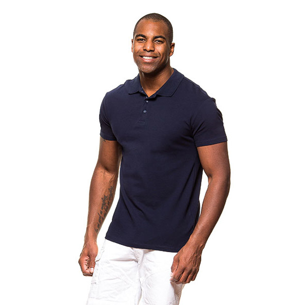 Polo shirt stretch